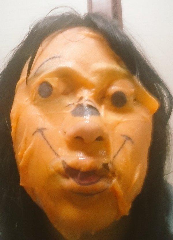 terror winnie mask