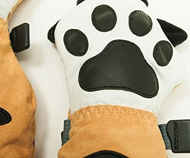 tiger paw waterproof mittens kids