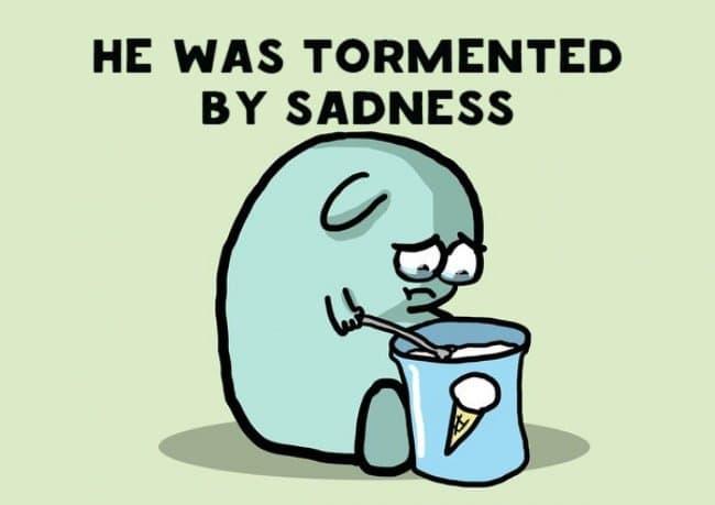 torment sadness