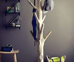 tree coat rack trunk