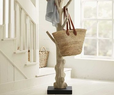 tree coat rack trunk home