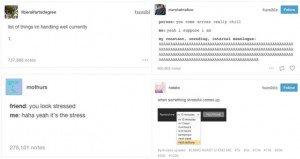 tumblr stress posts