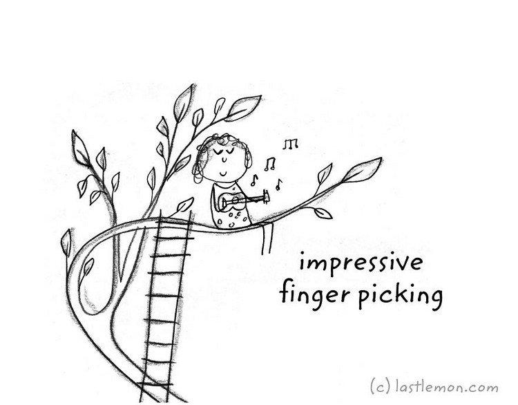 uke picking
