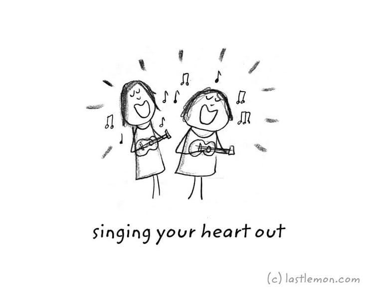uke singing