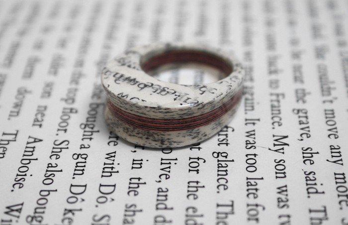 white book ring