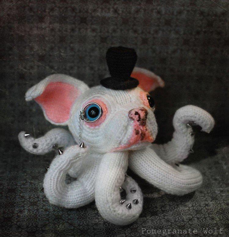white octodog