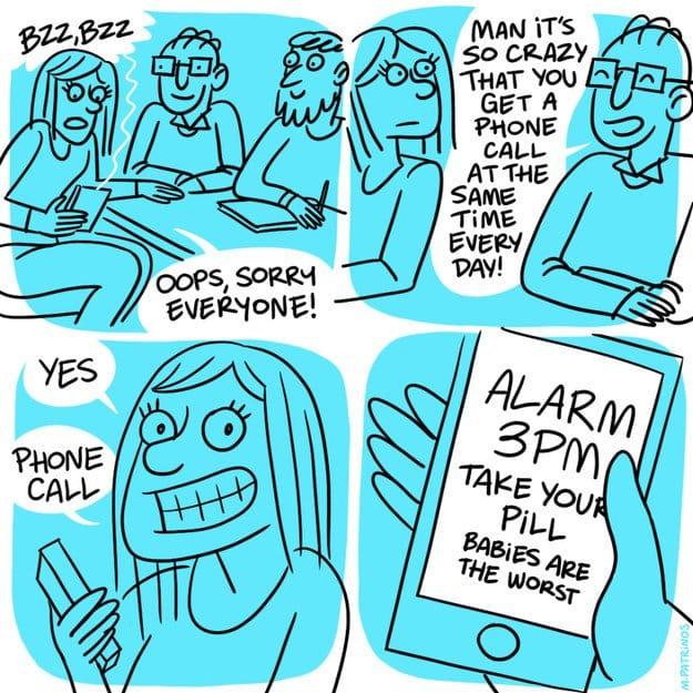 women-illustrations-pill