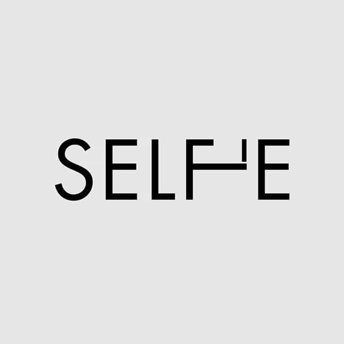 words-selfie