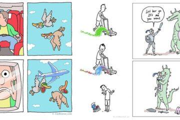 Amusing Comics Jim Benton