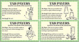 Bar Tricks Free Drinks