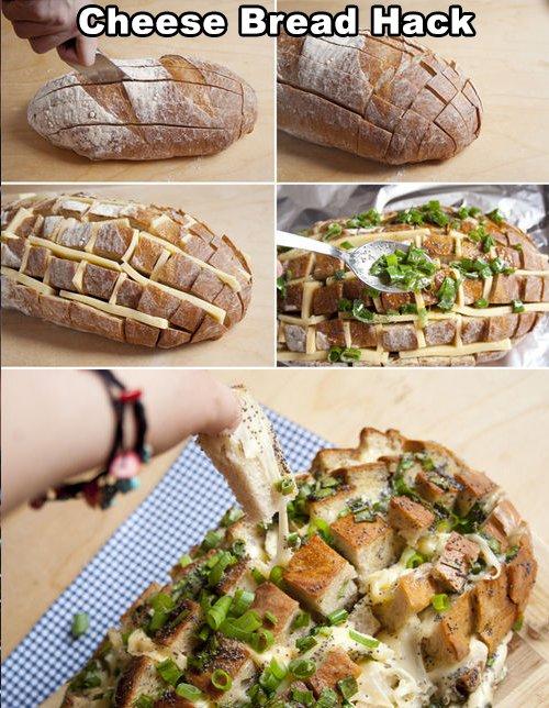 Cheese Bread Hacks