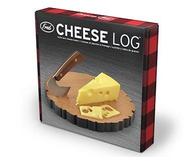 Cheese Log Board And Knife Set box