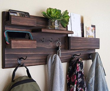 Coat Rack And Storage Organizer