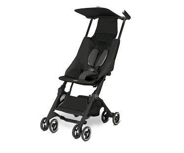 Compact Folding Stroller black