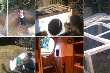 DIY Hobbit House Backyard