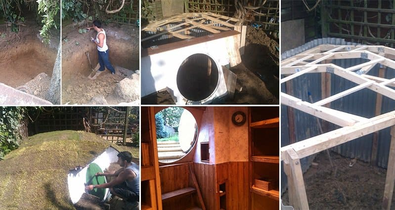 12 Images Showing An Awesome Diy Hobbit House Coming To Life