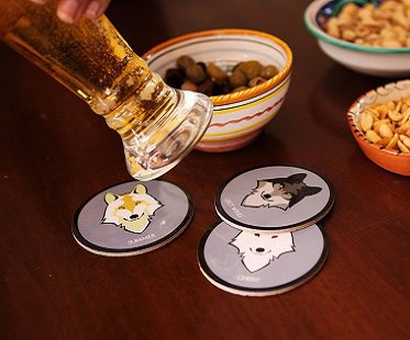 Dire Wolf Coasters game of thrones