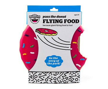 Donut Flying Disc box