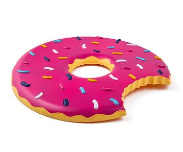 Donut Flying Disc pink