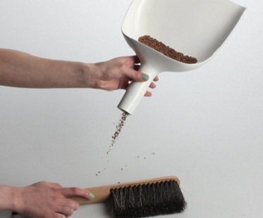 Dustpan Funnel And Brush