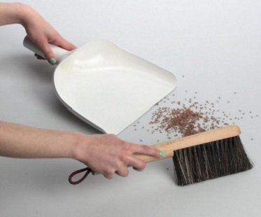 Dustpan Funnel And Brush cleaning