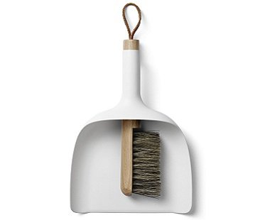 Dustpan Funnel And Brush set