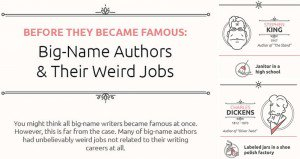 Ex-Jobs World Famous Writers