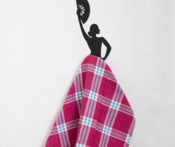 Flamenco Dancer Towel Hanger