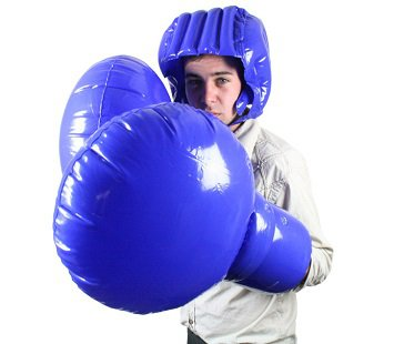 Giant Inflatable Boxing Set gloves