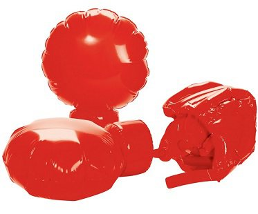 Giant Inflatable Boxing Set red