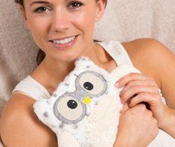 Microwavable Snowy Owl