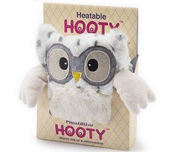 Microwavable Snowy Owl cuddly