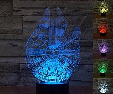 Millennium Falcon Lamp