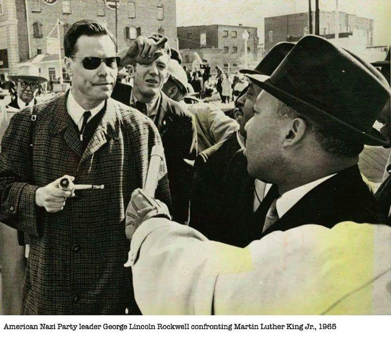 Nazi Confrontation MLK