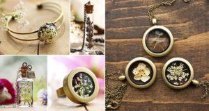 Pieces Terrarium Jewelry Kay Bells