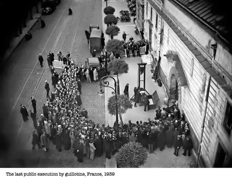 Public Exocution France