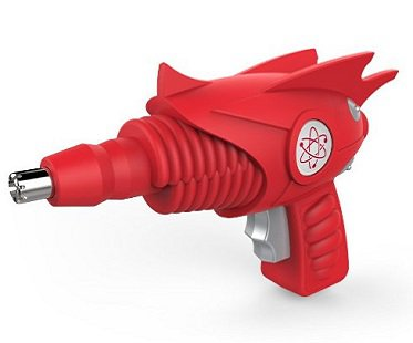 Ray Gun Nose And Ear Trimmer red