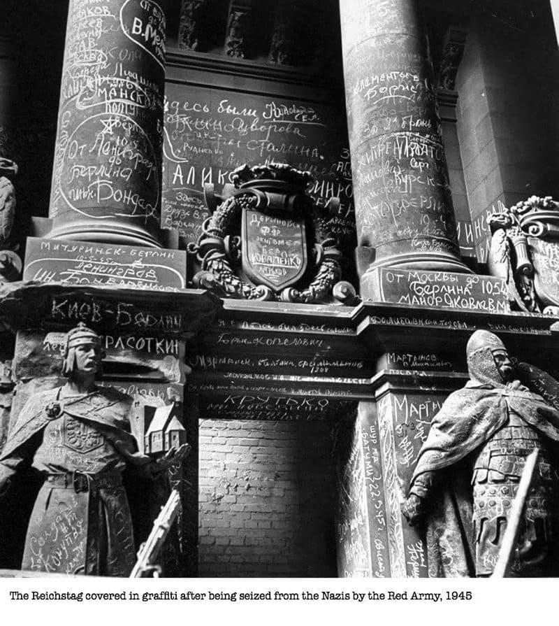 Reichstag Grafitti