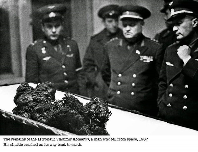 Remains Of Astronaut