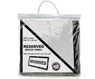 Reserved Beach Towel bag