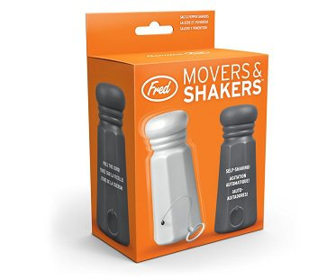 Shaking Salt And Pepper Set box