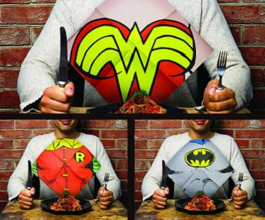 Superhero Napkins dc comics