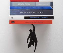 Superman Floating Bookshelf