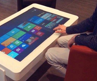Touchscreen Coffee Table Diy