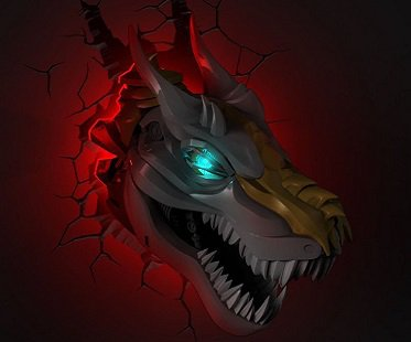 Transformers Grimlock Night Light