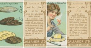 Vintage Life Hacks Cigarette Packets