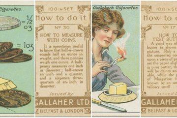 Vintage Life Hacks Cigarette Packets