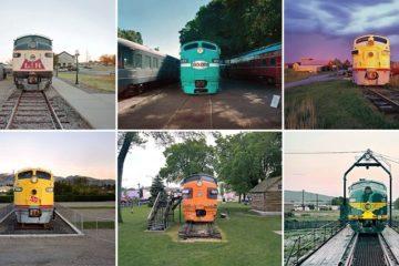 Vintage Locomotives John Sanderson