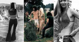 Vintage Woodstock Photographs Women Fashion