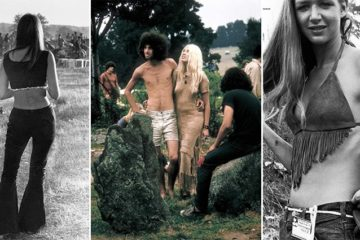 Vintage Woodstock Photographs Women Fashion